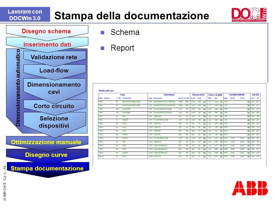 Stampa della documentazione