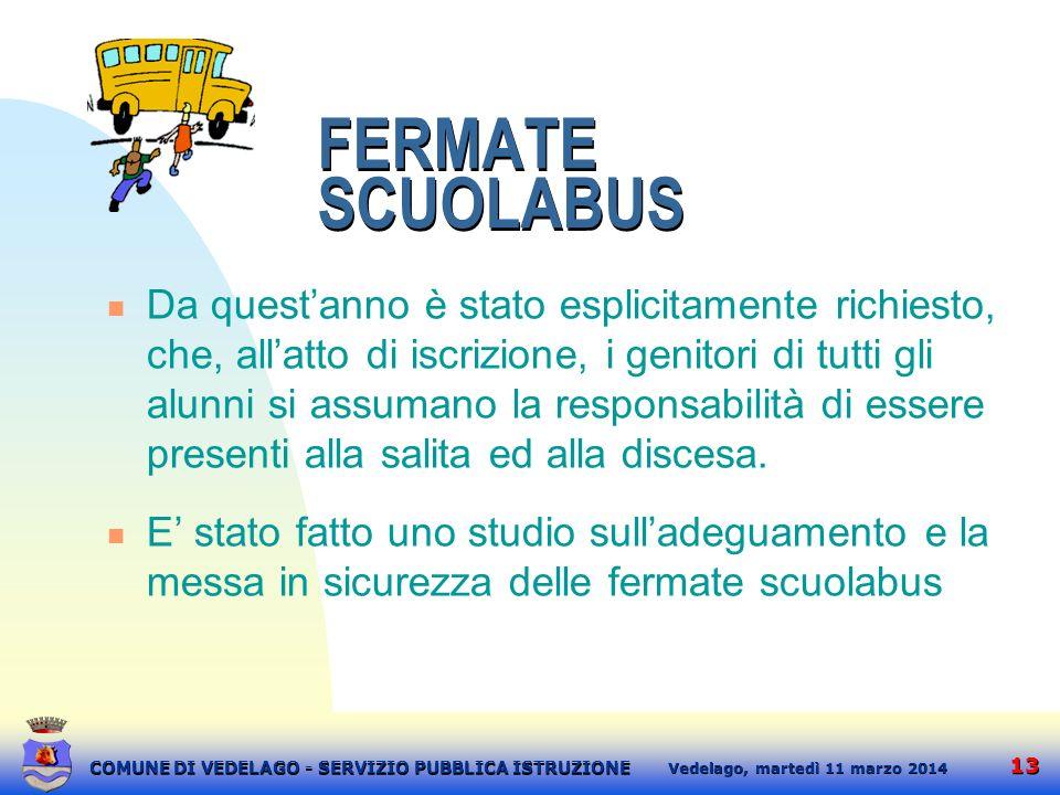 FERMATE SCUOLABUS