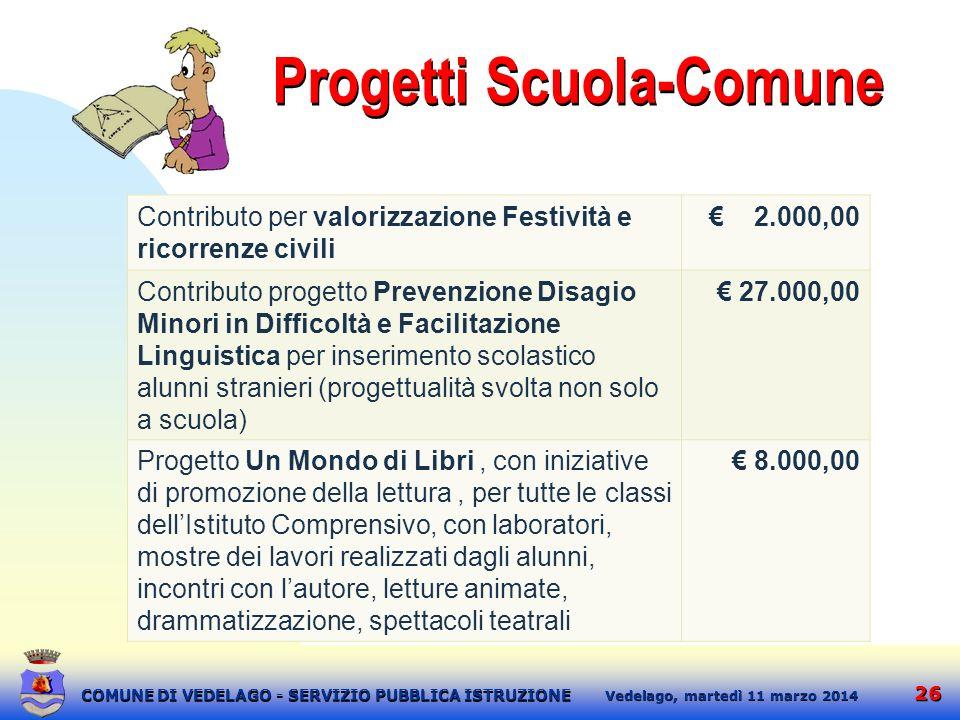 Progetti Scuola-Comune