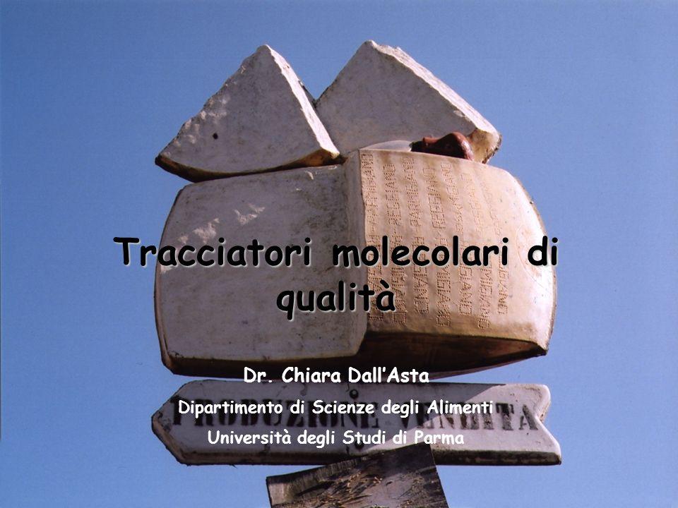 Tracciatori molecolari di qualità