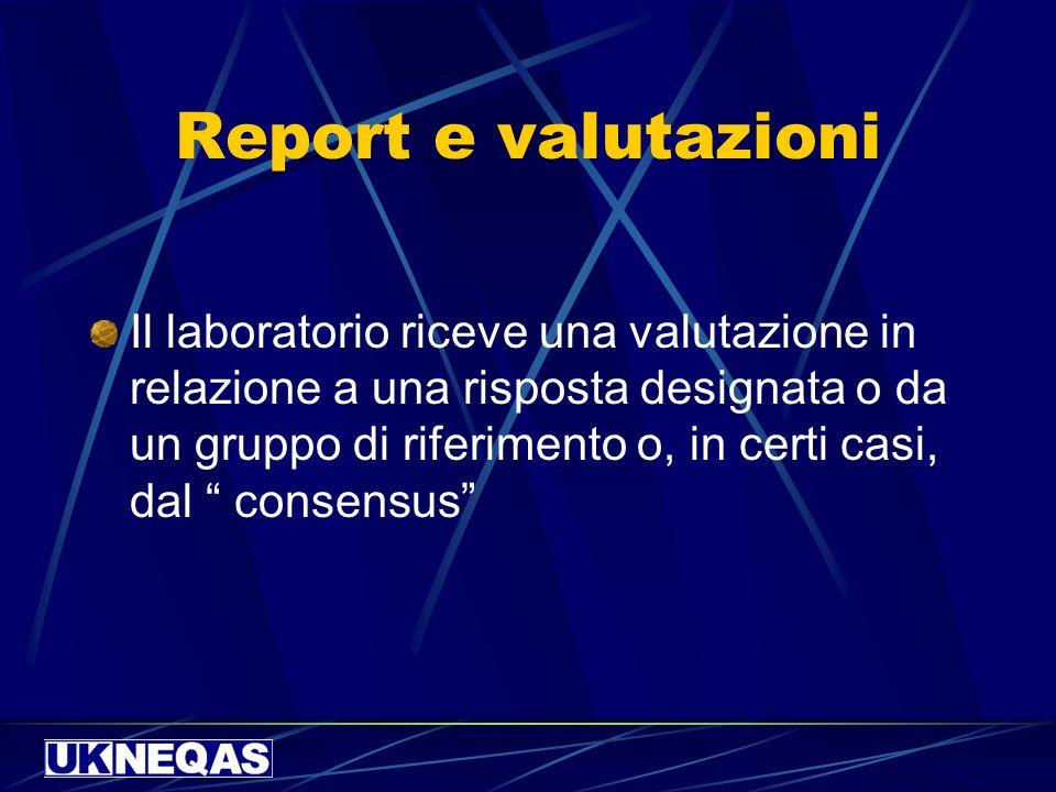 Report e valutazioni