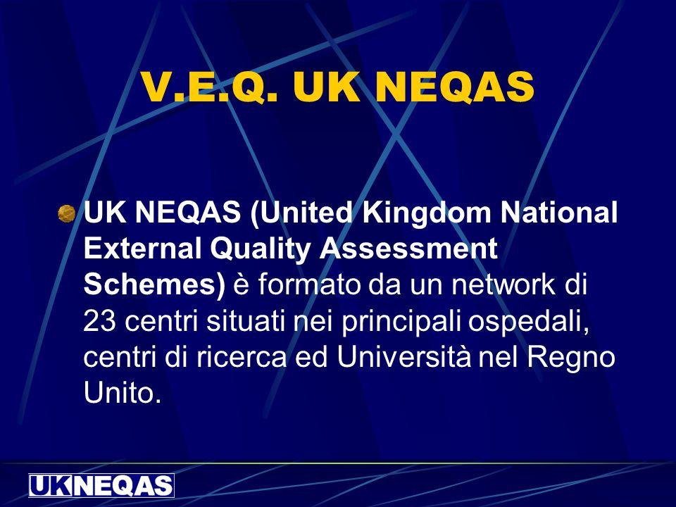 V.E.Q. UK NEQAS