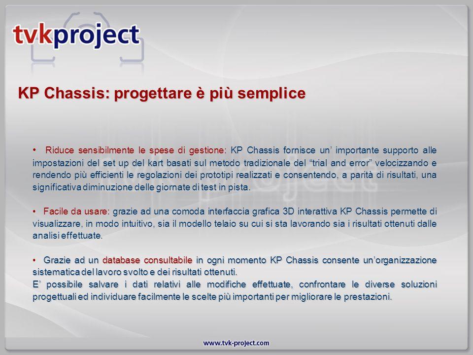 KP Chassis: progettare è più semplice