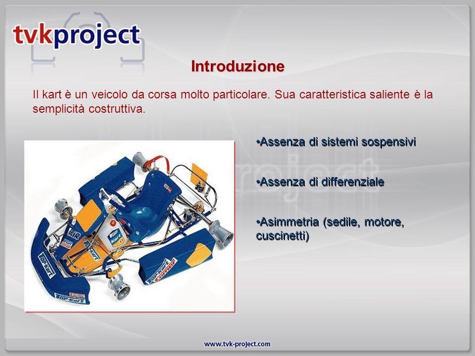 Introduzione Il kart è un veicolo da corsa molto particolare. Sua caratteristica saliente è la semplicità costruttiva.