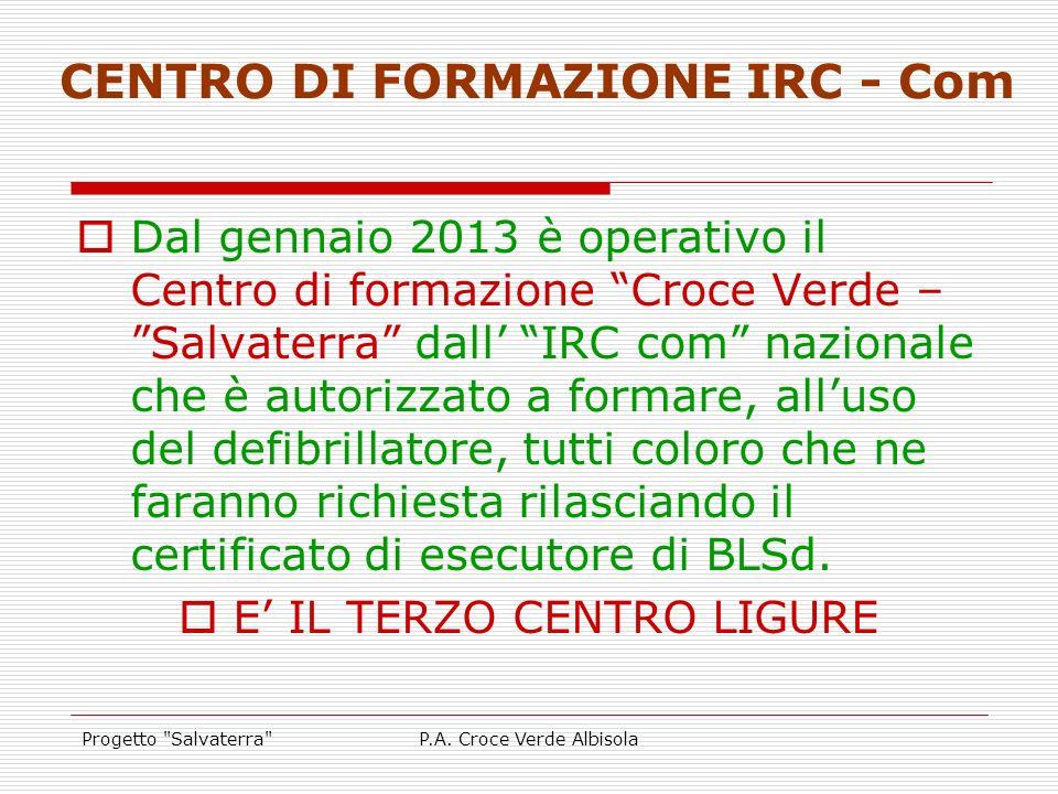 CENTRO DI FORMAZIONE IRC - Com