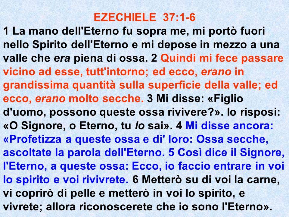 EZECHIELE 37:1-6