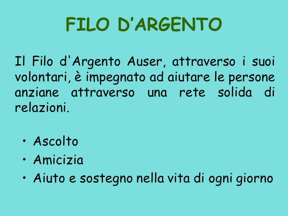 FILO D'ARGENTO