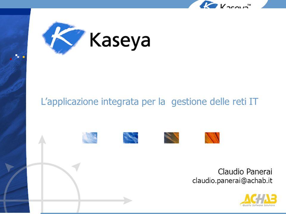 L'applicazione integrata per la gestione delle reti IT