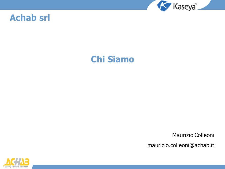 Achab srl Chi Siamo Maurizio Colleoni maurizio.colleoni@achab.it