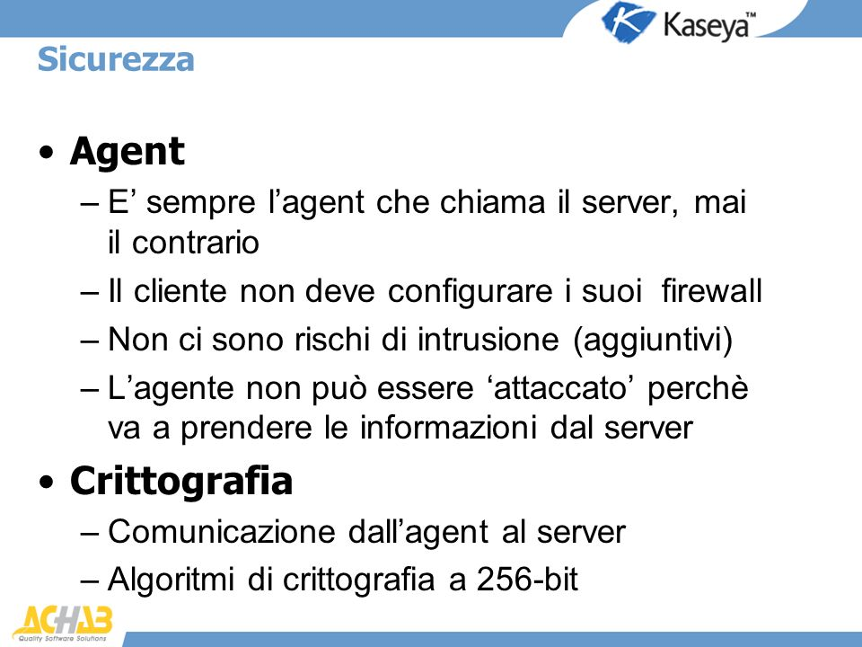 Agent Crittografia Sicurezza