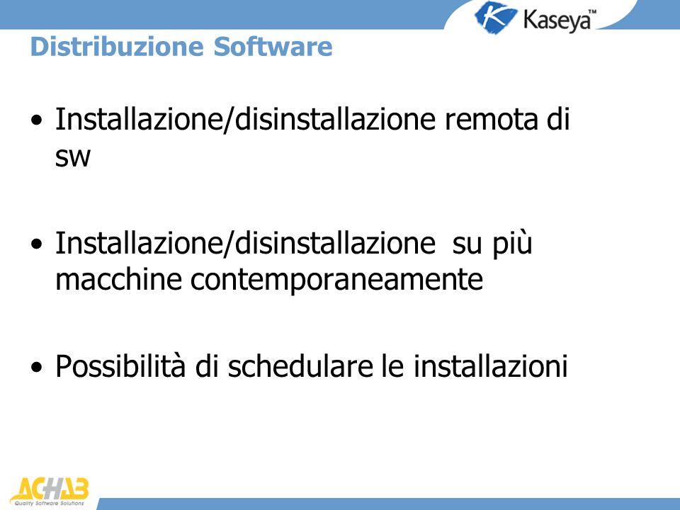 Distribuzione Software