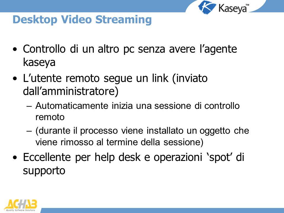 Desktop Video Streaming