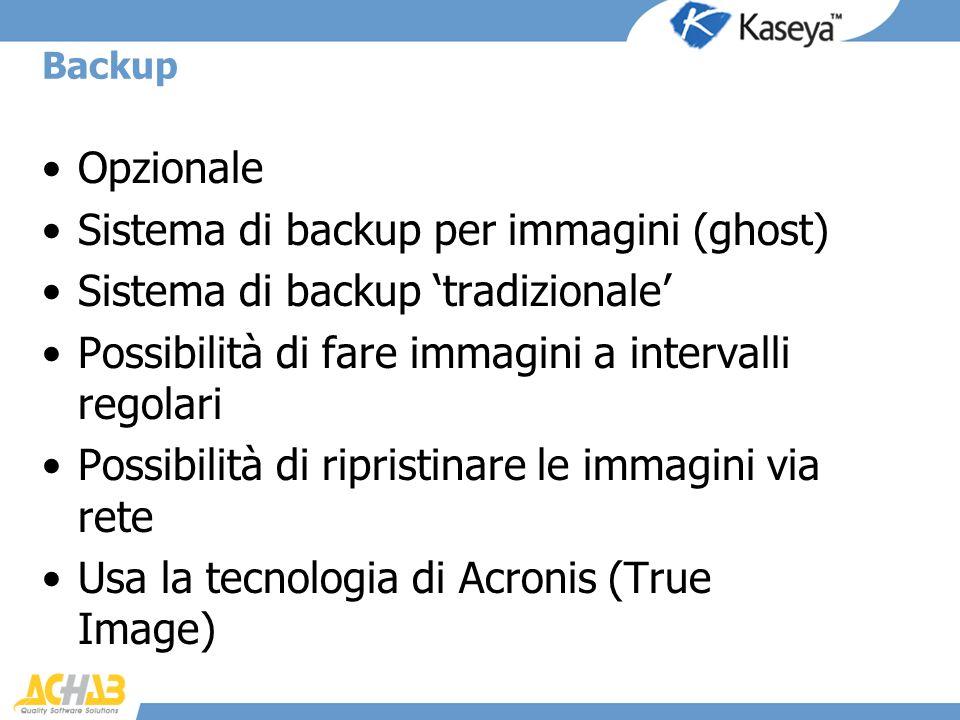 Sistema di backup per immagini (ghost)