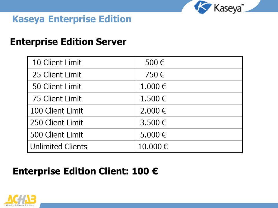 Kaseya Enterprise Edition