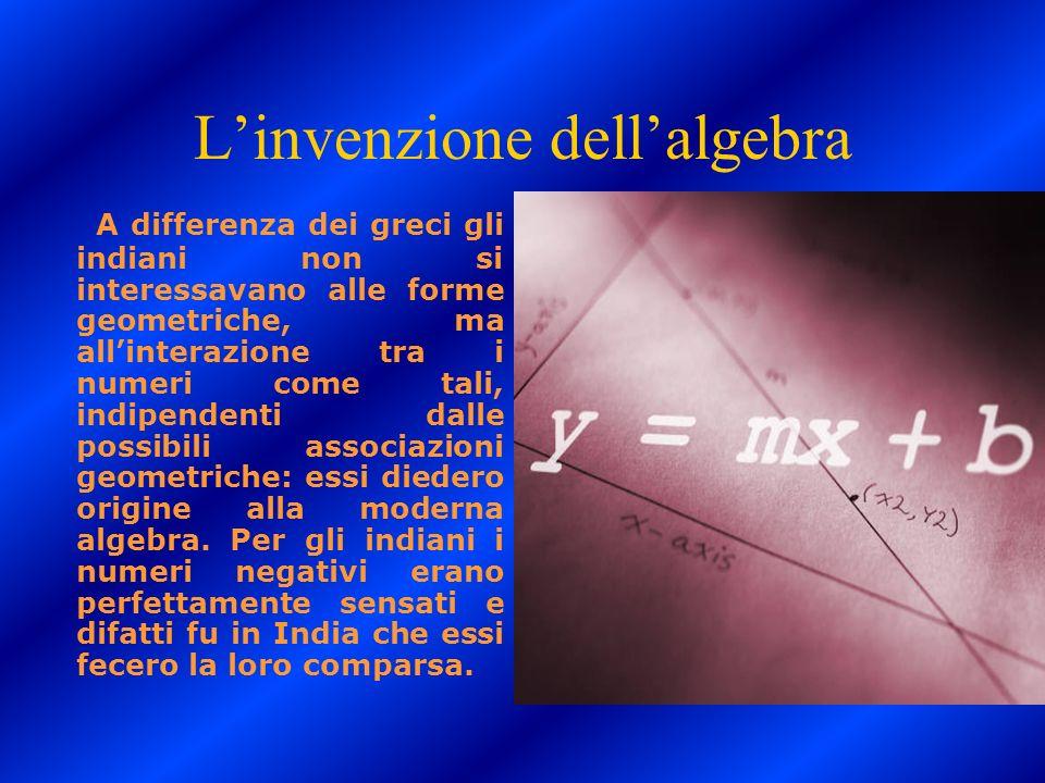 L'invenzione dell'algebra
