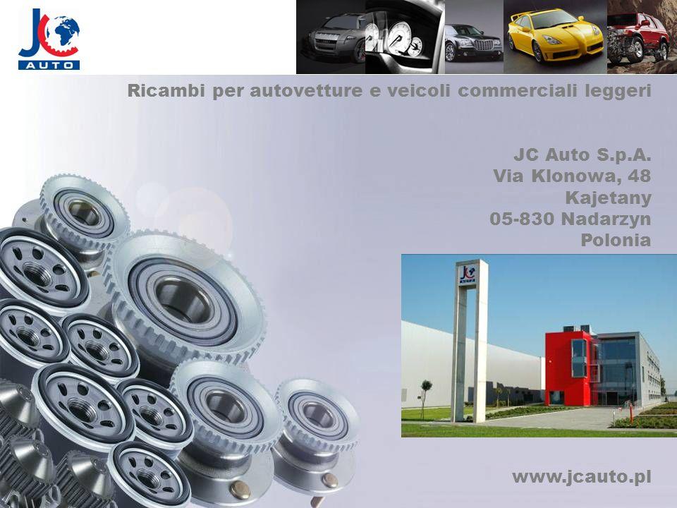 Ricambi per autovetture e veicoli commerciali leggeri