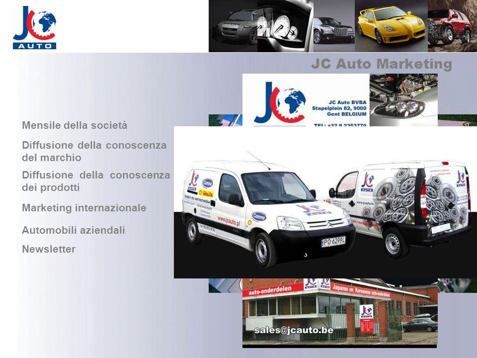 JC Auto Marketing Mensile della società