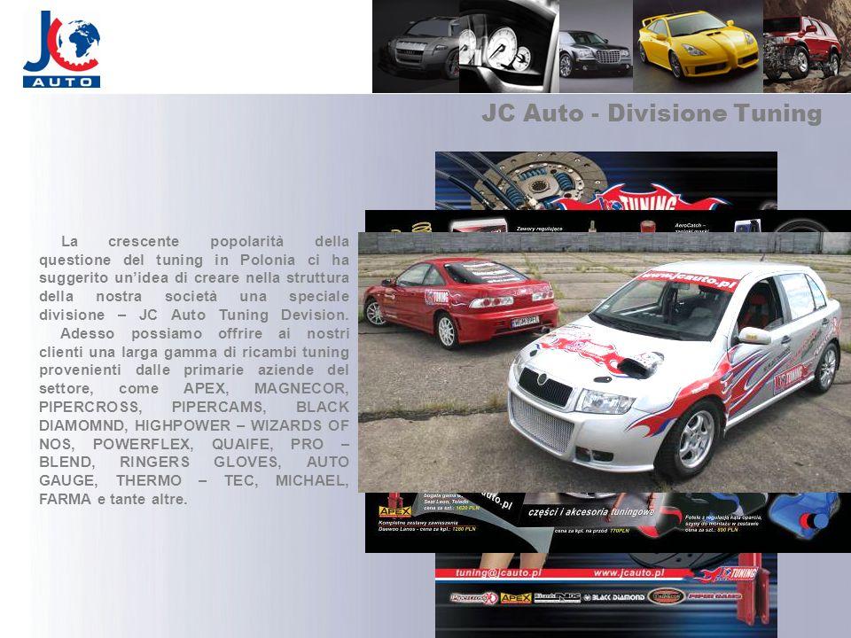 JC Auto - Divisione Tuning