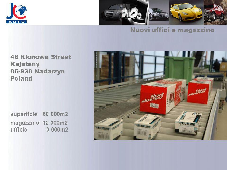 Nuovi uffici e magazzino