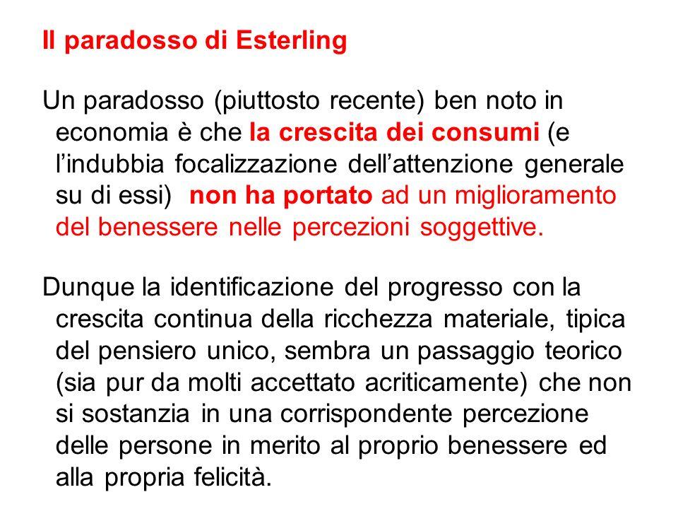 Il paradosso di Esterling