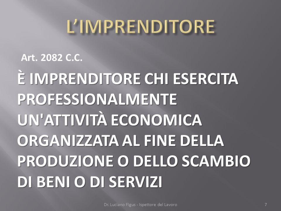 Dr. Luciano Figus - Ispettore del Lavoro