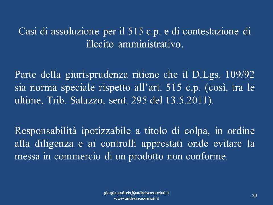 giorgia.andreis@andreiseassociati.it www.andreiseassociati.it