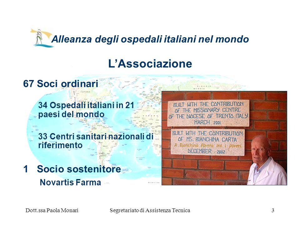 Alleanza degli ospedali italiani nel mondo