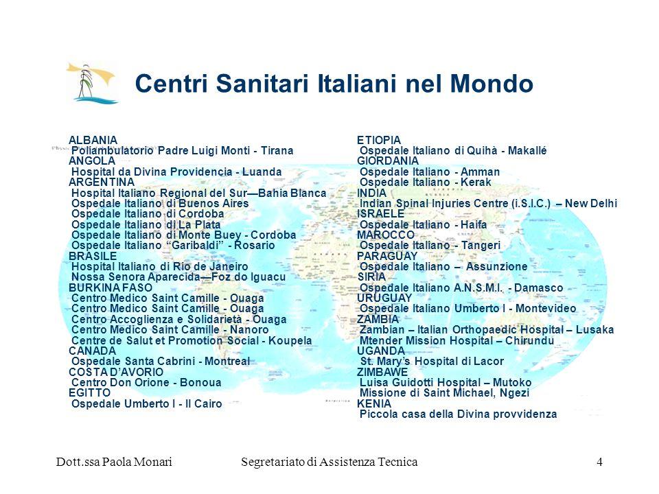 Centri Sanitari Italiani nel Mondo