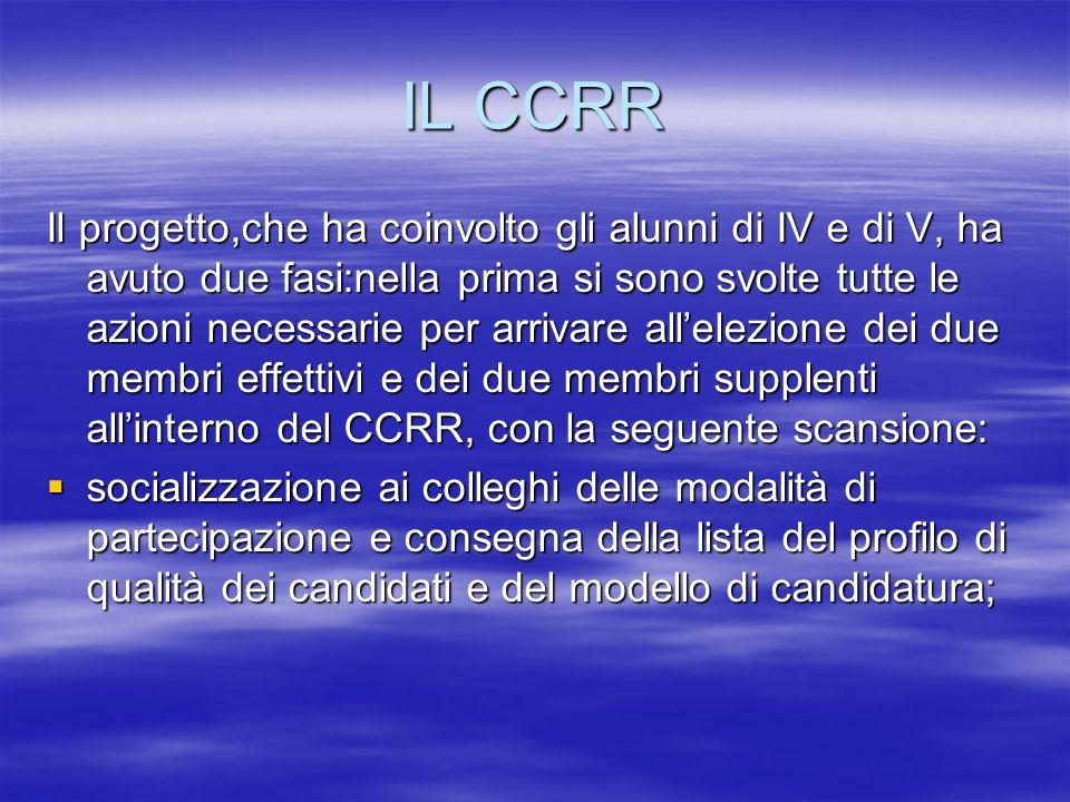 IL CCRR