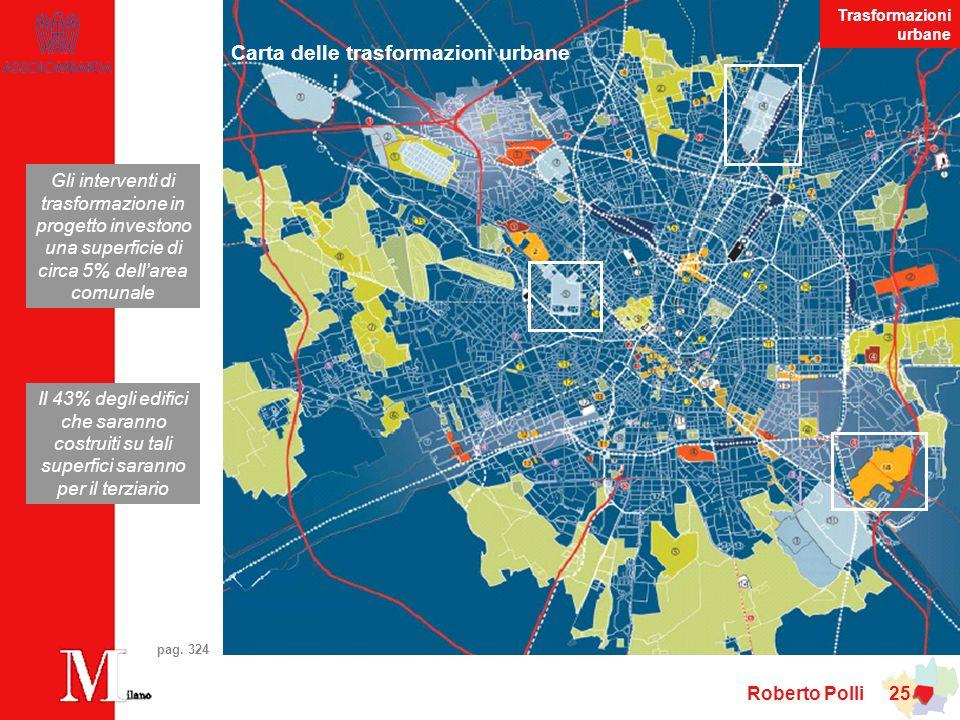 Carta delle trasformazioni urbane
