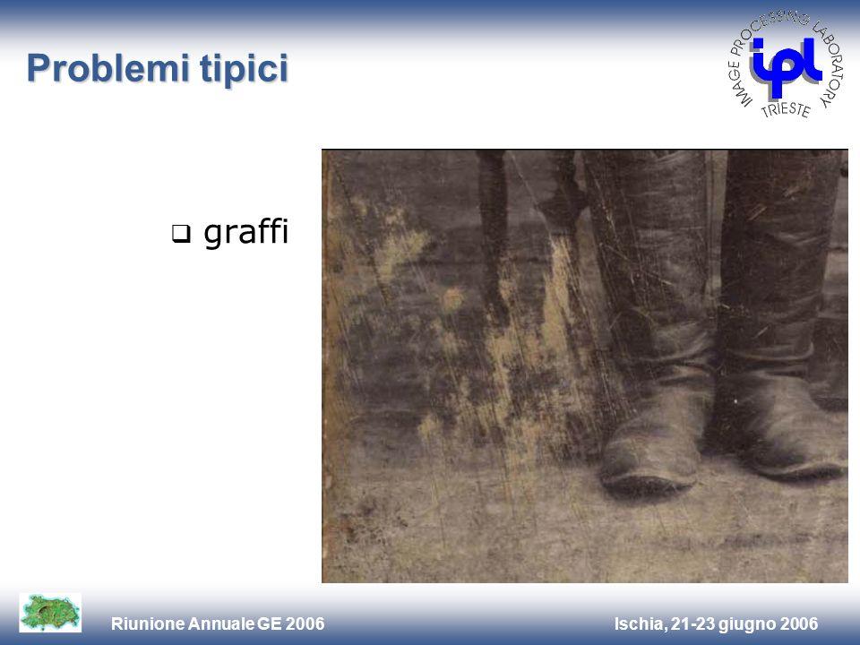 Problemi tipici graffi