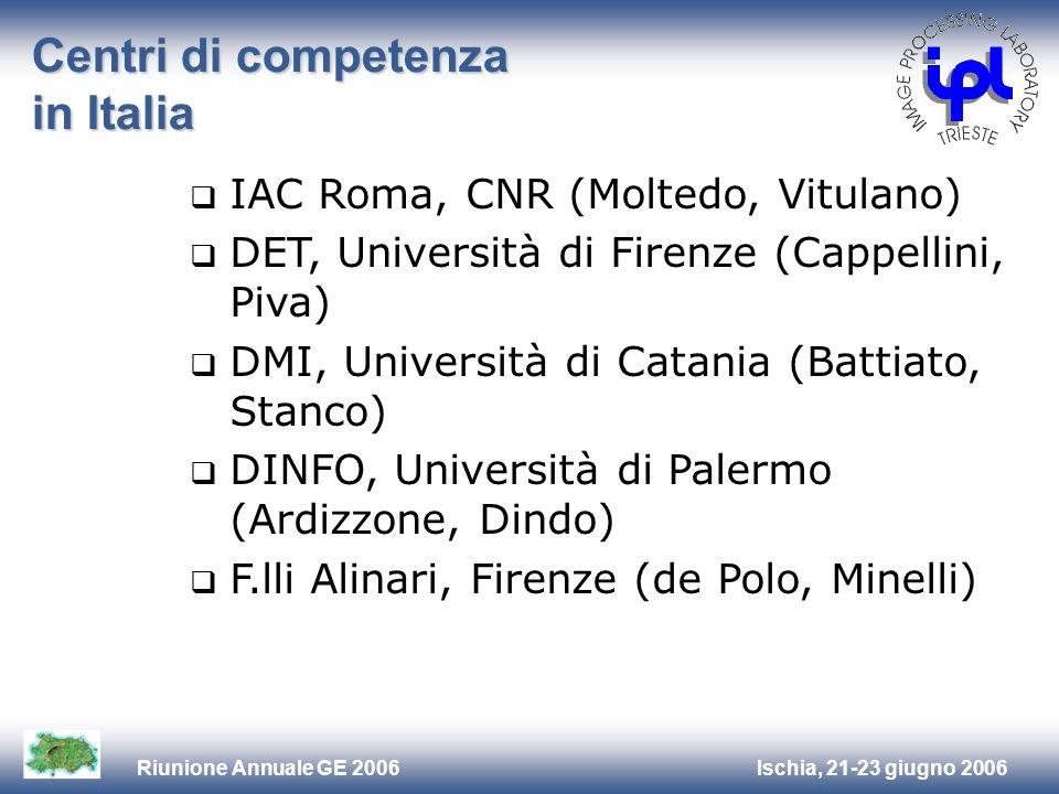 Centri di competenza in Italia