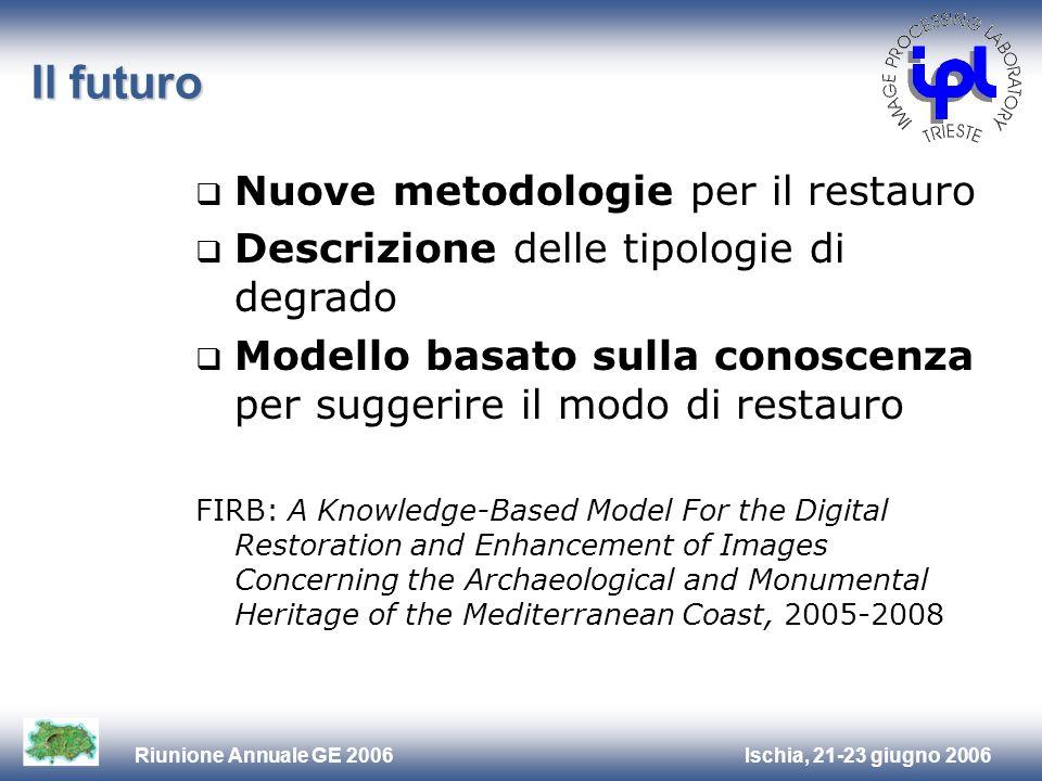 Il futuro Nuove metodologie per il restauro