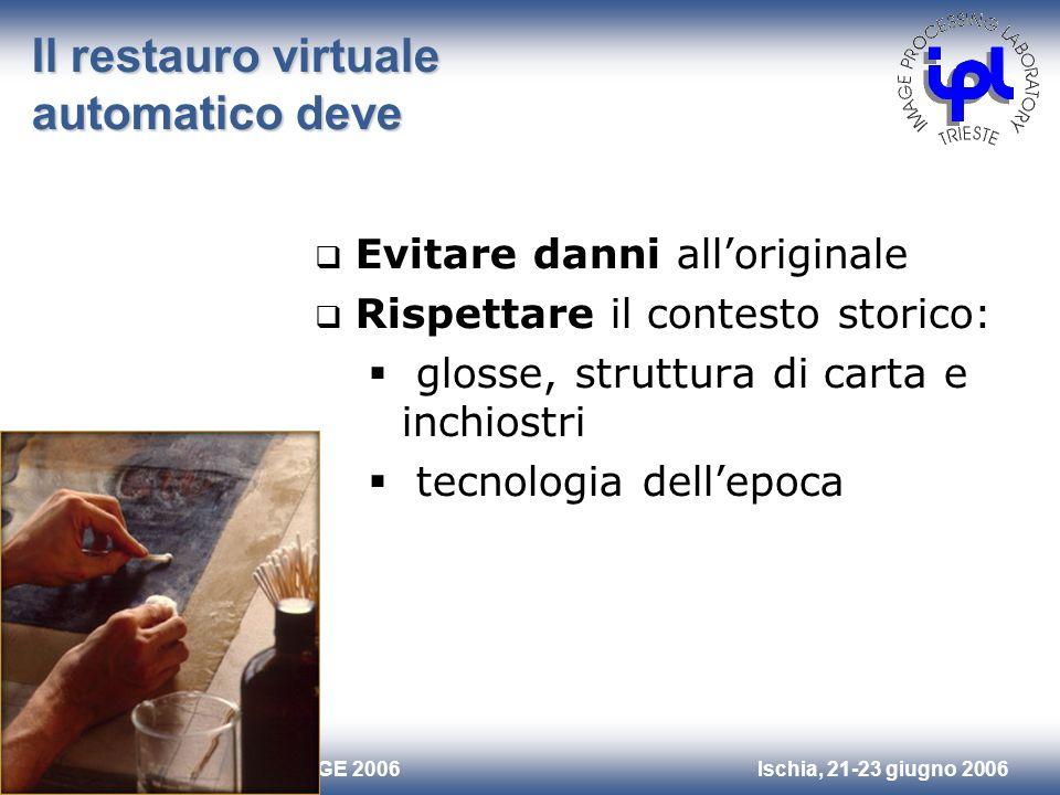 Il restauro virtuale automatico deve