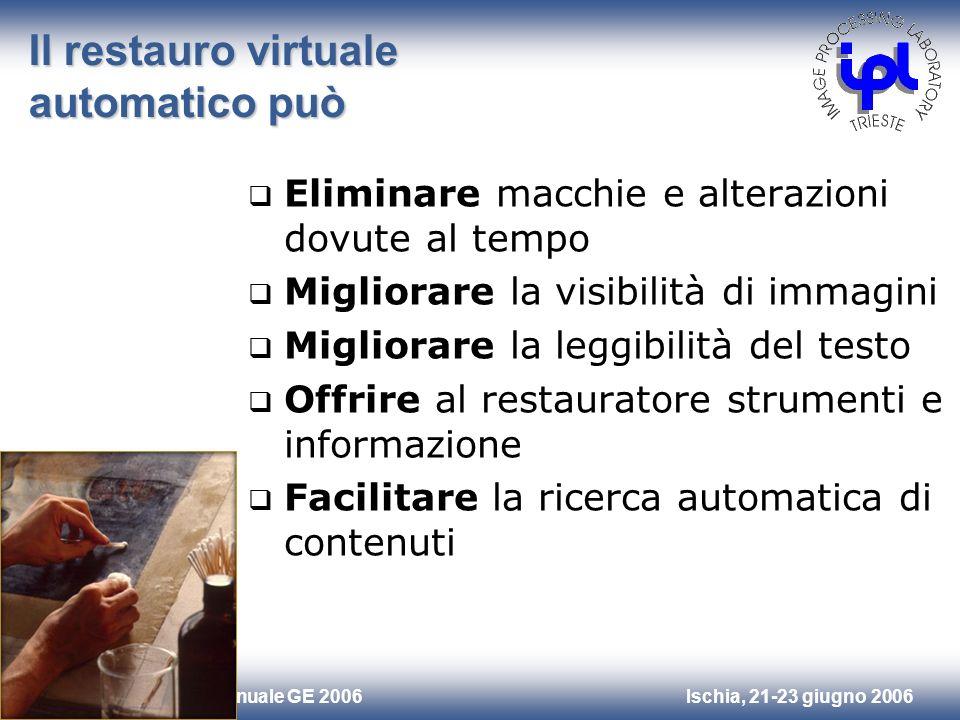 Il restauro virtuale automatico può