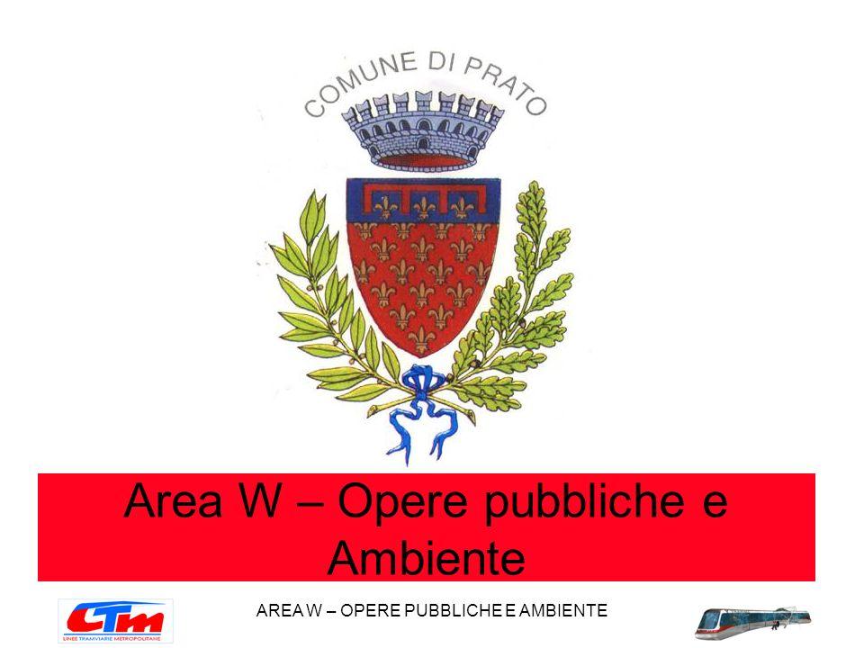 Area W – Opere pubbliche e Ambiente