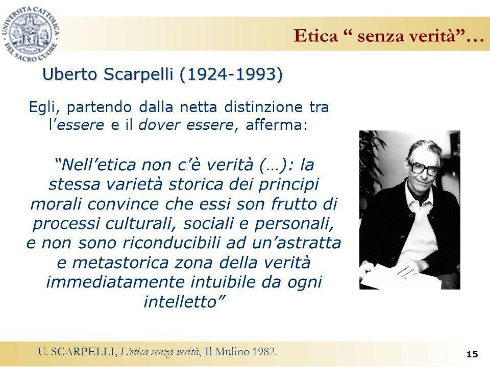 Etica senza verità … Uberto Scarpelli (1924-1993)