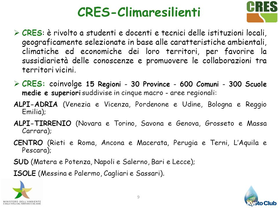 CRES-Climaresilienti