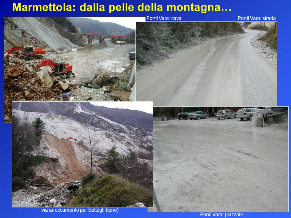 via arroccamento per Bettogli (terre)