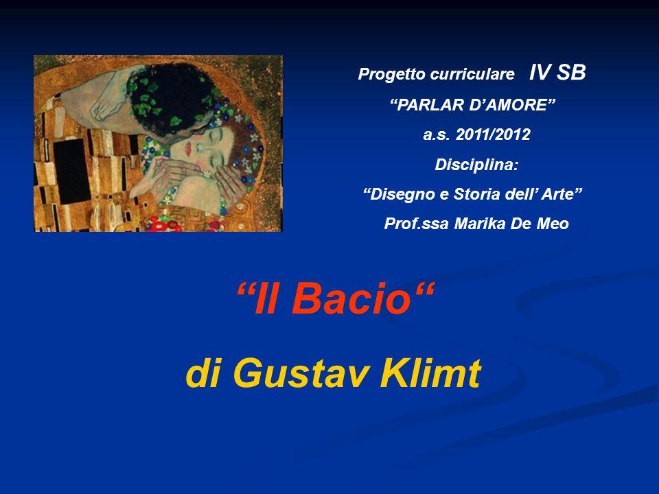Progetto curriculare IV SB Disegno e Storia dell' Arte