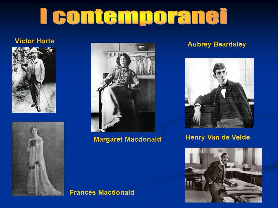 I contemporanei Victor Horta Aubrey Beardsley Henry Van de Velde