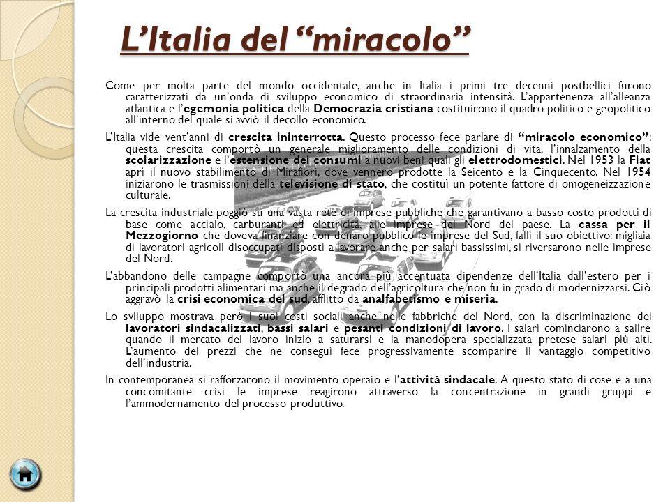 L'Italia del miracolo