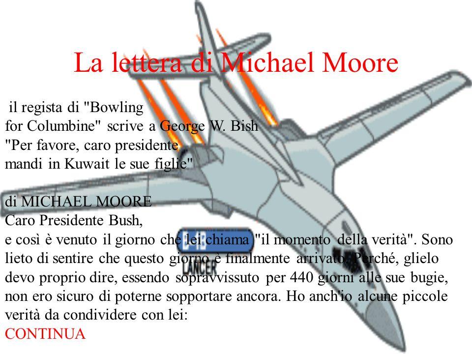 La lettera di Michael Moore