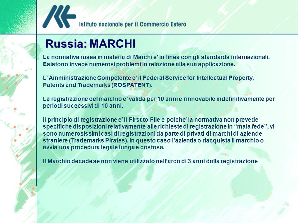 Russia: MARCHI