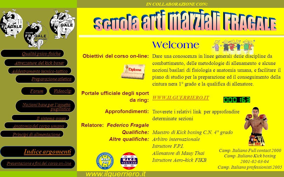 www.ilguerriero.it Scuola arti marziali FRAGALE