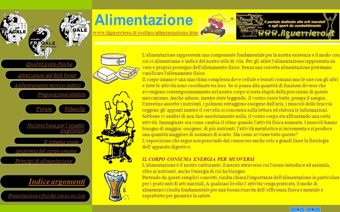 Alimentazione www.ilguerriero.it/codino/alimentazione.htm