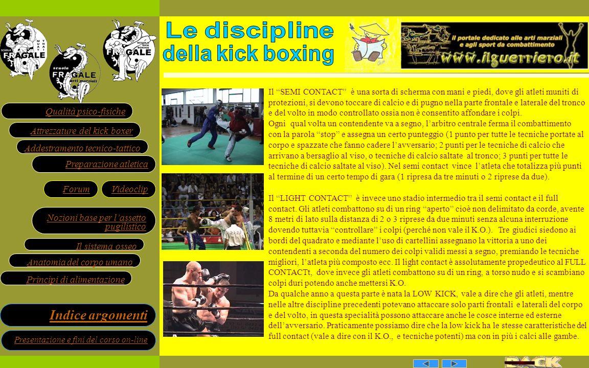 Le discipline della kick boxing
