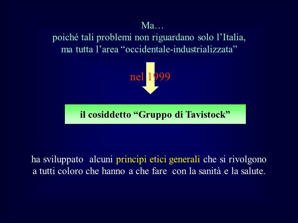 il cosiddetto Gruppo di Tavistock