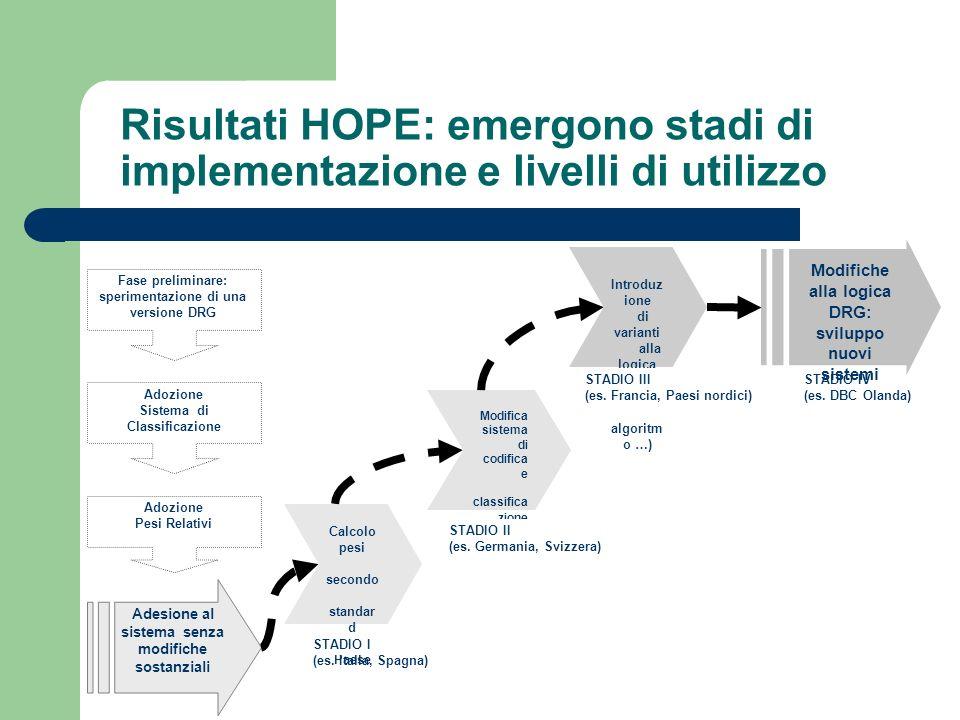 Risultati HOPE: emergono stadi di implementazione e livelli di utilizzo