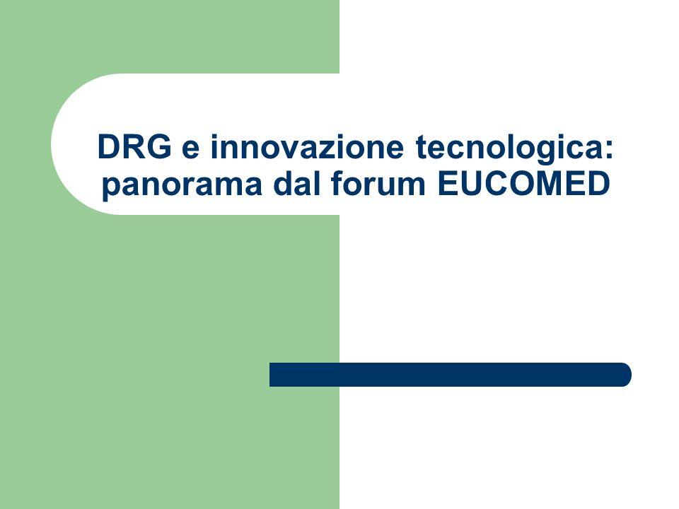 DRG e innovazione tecnologica: panorama dal forum EUCOMED
